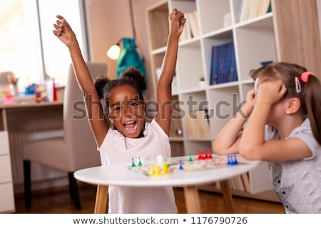 Two girls in playroom Stock photo © Paha_L