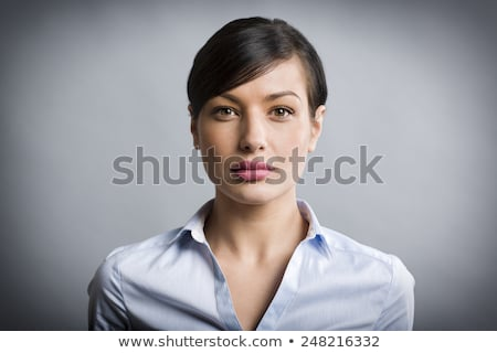 Closeup of a serious businesswoman Stock photo © photography33