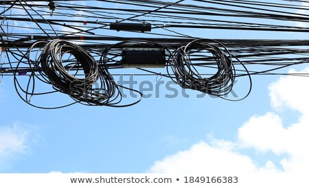 Coupler for telephone and internet Stock photo © deyangeorgiev
