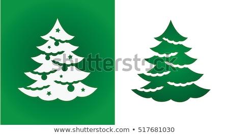 Felling a Christmas Tree Stock photo © nailiaschwarz