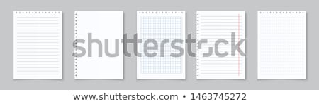 Notatka książki farbują biuro notebooka dokumentu Zdjęcia stock © marekusz