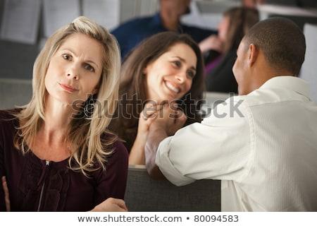 Trójka biuro działalności ręce człowiek kobiet Zdjęcia stock © photography33