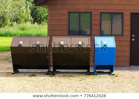 несут доказательство Recycle контейнера животного можете Сток-фото © bendicks