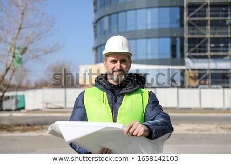 собственности разработчик бизнеса дизайна домой двери Сток-фото © photography33