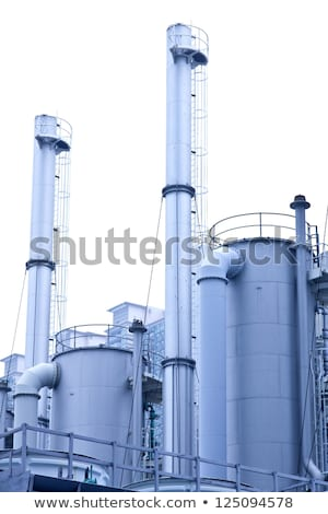 Gas planten Hong Kong gebouw technologie achtergrond Stockfoto © kawing921