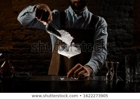 льда большой ножом продовольствие инструментом Кука Сток-фото © pterwort