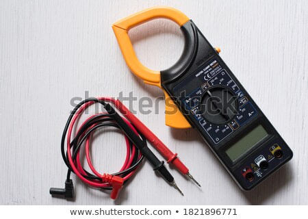 Electrician with an multi-meter Stock photo © photography33