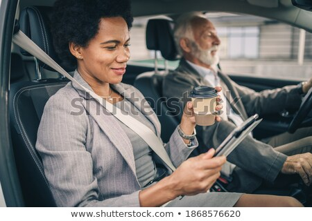 senior businessman going on a professional trip stock photo © photography33