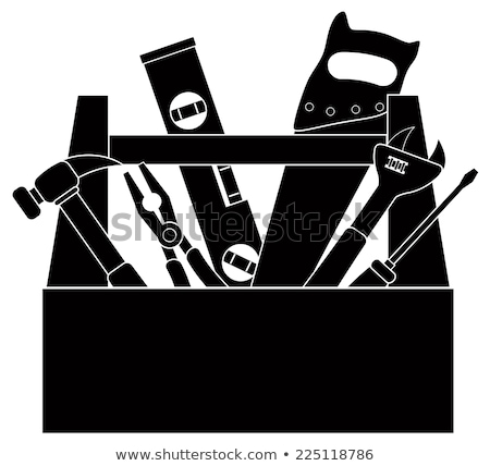 collage of handyman with toolbox Stock photo © photography33