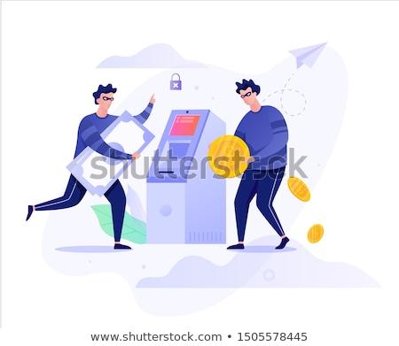 Thief with sack stock photo © velkol