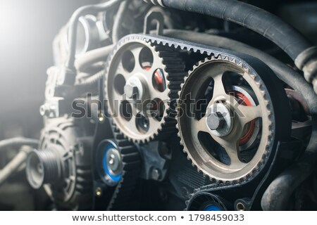 timing · gordel · twee · spanning · mechanisme - stockfoto © homydesign