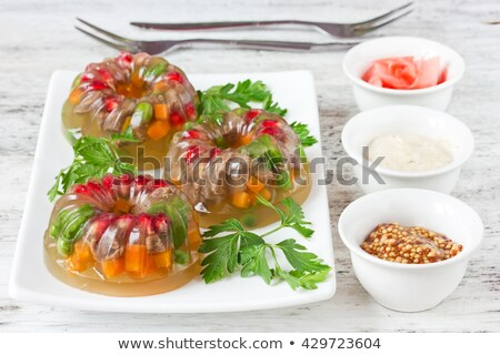 aspic background Stock photo © jonnysek