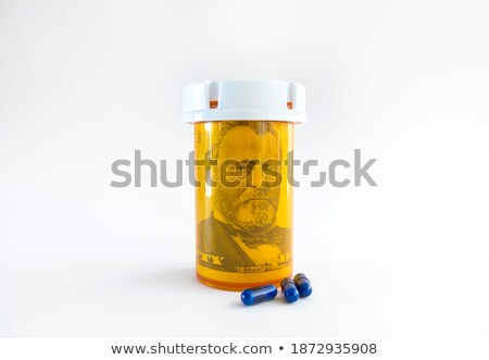 dollar inside the pill Stock photo © 4designersart