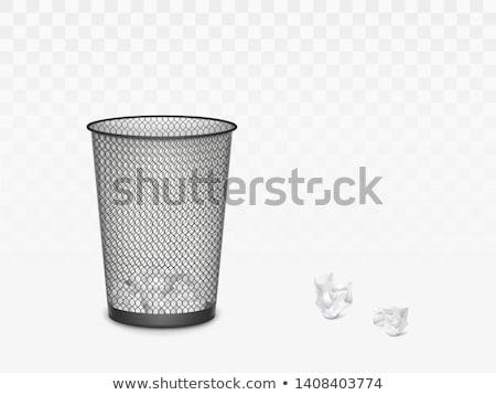 residuos · cesta · imagen · dinero · reloj · tiempo - foto stock © zzve