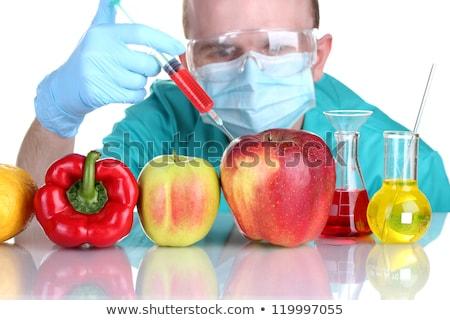 Genetically modified foods, apple Stock photo © lunamarina
