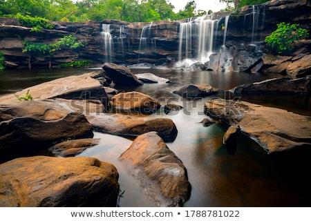 滝 · 山 · ポーランド · 自然 · 旅行 · 公園 - ストックフォト © sqback