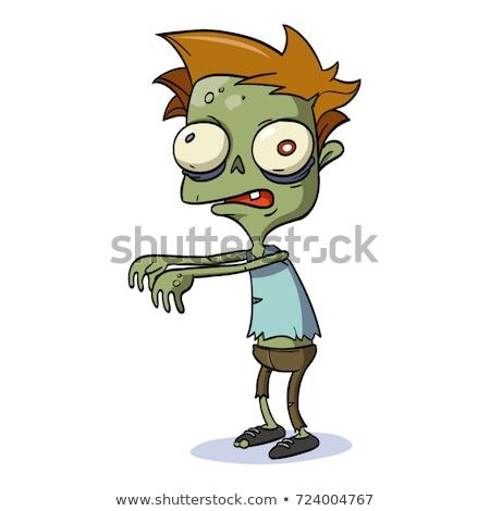 Cartoon Zombie Stock photo © fizzgig