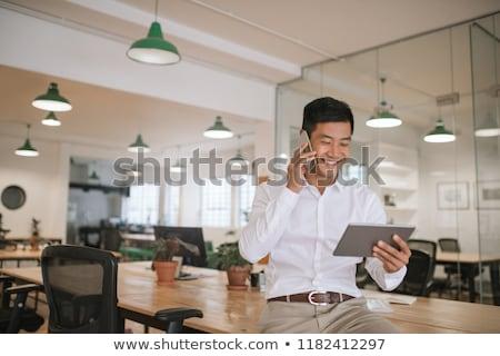 アジア · ビジネスマン · 格好良い · 男性 · ビジネス - ストックフォト © szefei