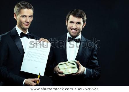 Let's Make a Deal, Partner. Stock photo © Lighthunter