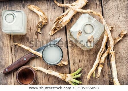 natural homemade traditional alcoholic drink  Stock photo © OleksandrO