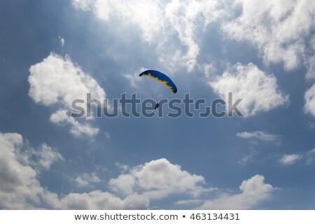 Sky gliding in cloudy sky Stock photo © BSANI