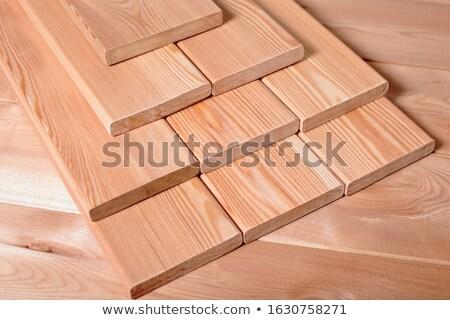 Egymásra pakolva fa nap szabadtér fűrészmalom textúra Stock fotó © rhamm