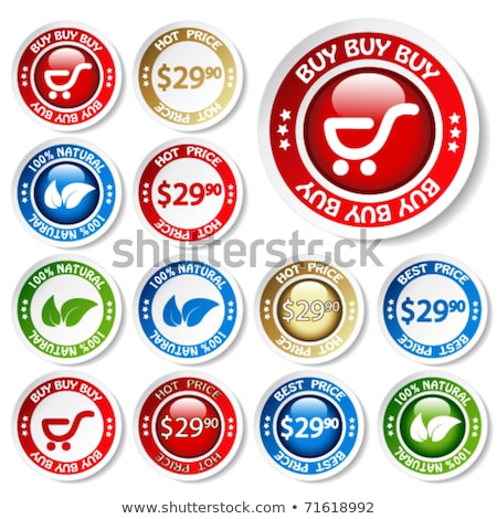 best price blue vector icon button stock photo © rizwanali3d