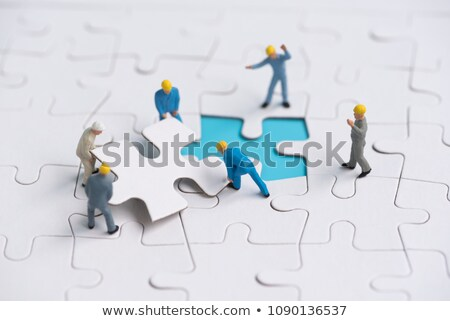 Insurance - Jigsaw Puzzle with Missing Pieces. Stock photo © tashatuvango