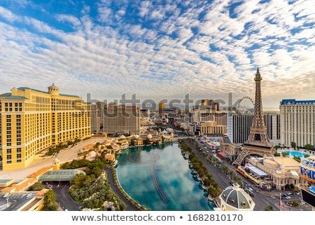 Las Vegas ochtend 19 2014 Nevada stad Stockfoto © AndreyKr