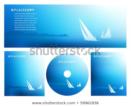 ストックフォト: 海 · ブレンド · 青 · 水 · デザイン · 抽象的な
