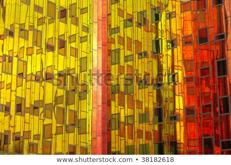 glass facade spectrum colors Stock photo © sirylok