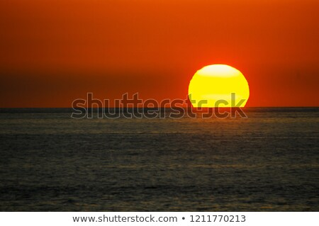 Summer sun over the island and sea Stock photo © Yongkiet