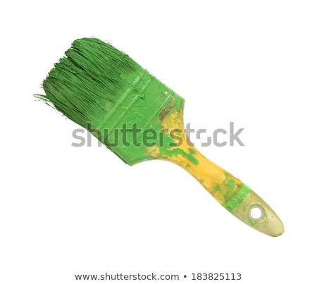 Old used paint brush Stock photo © Taigi