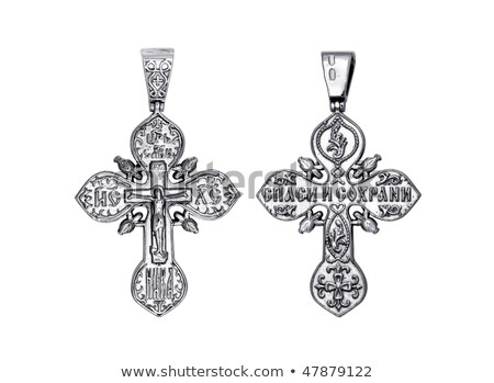 Handcrafted  jewelry religious concepts Stock photo © nessokv