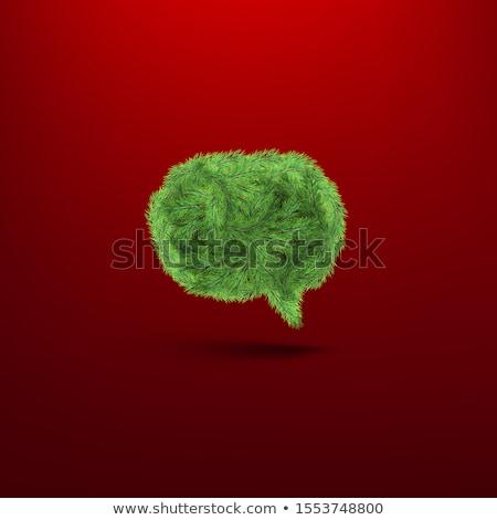 konuşma · balonu · ahşap · doku · eps10 · iş · ahşap - stok fotoğraf © beholdereye