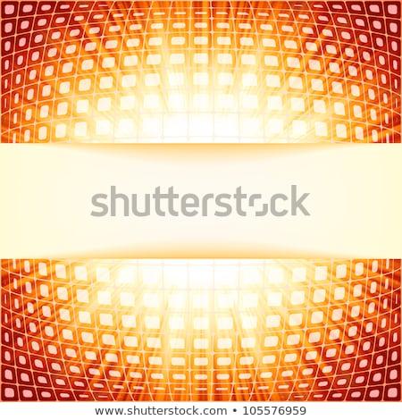 Tecnología rojo llamarada eps Foto stock © beholdereye
