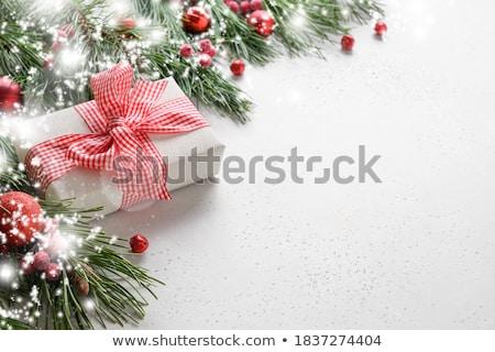 Red balls on white Stock photo © klikk
