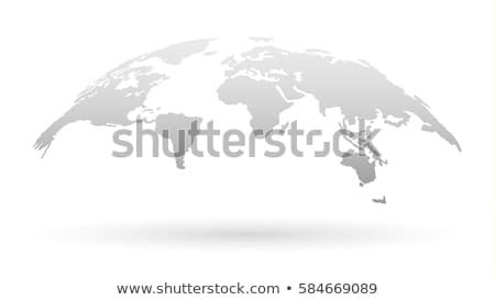 White Globe Stock photo © jrstock