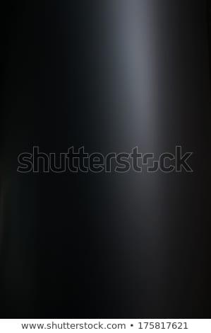 Fekete fényes felület terv hó háttér Stock fotó © IMaster