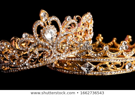 tiara with precious stones 2 Stock photo © Karamio