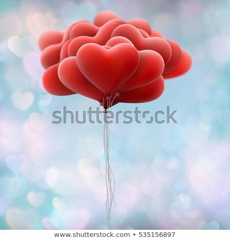 flocons · de · neige · forme · eps · vecteur · fichier · amour - photo stock © beholdereye