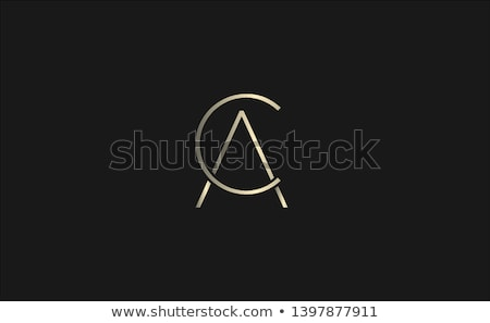 CA Logo Monogram Design Stock photo © sdCrea