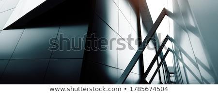 immobilier · maisons · logo · icônes · isolé · blanche - photo stock © sdcrea