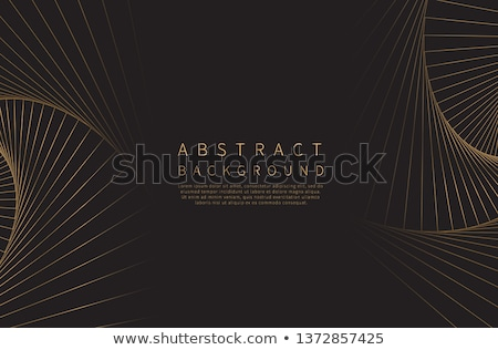 Escuro mínimo linhas vetor fundo preto Foto stock © SArts