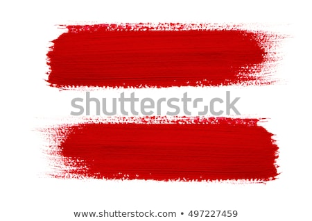 Piros ecset izolált grunge víz papír Stock fotó © butenkow