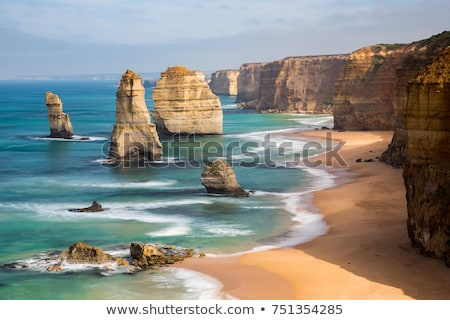 Foto stock: Doze · Austrália · costa · praia