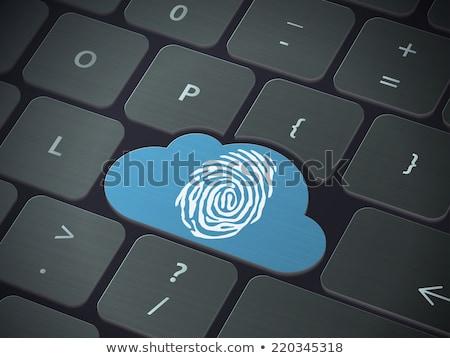キーボード · 青 · ボタン · ビッグ · データ · ソリューション - ストックフォト © tashatuvango