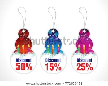 vinte · cinco · por · cento · imagem · de · vendas · botões - foto stock © pathakdesigner