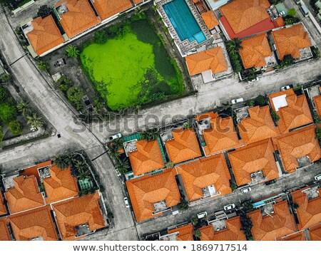Pittoresque vieille ville toits modèle bâtiment Photo stock © Taiga