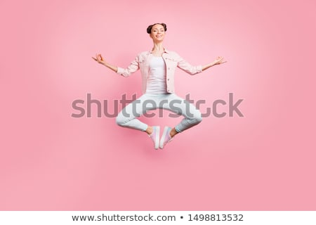 Femme méditer blanche homme fitness Photo stock © wavebreak_media